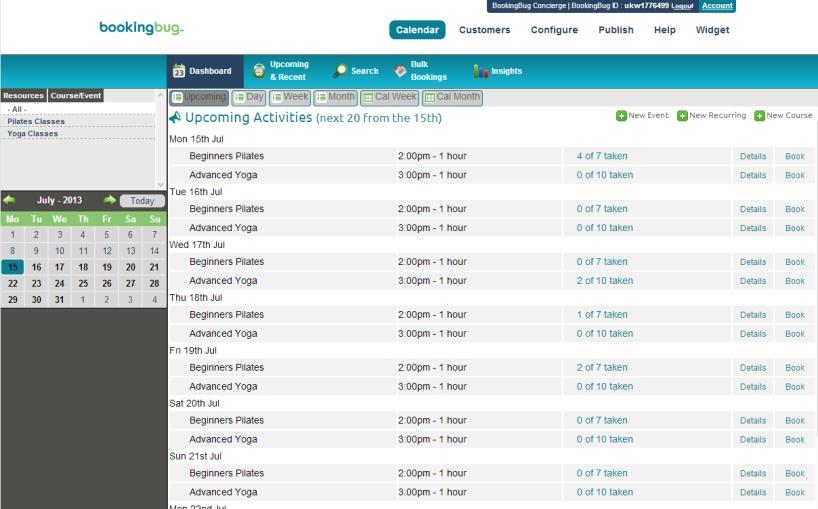 resorts online scheduling office